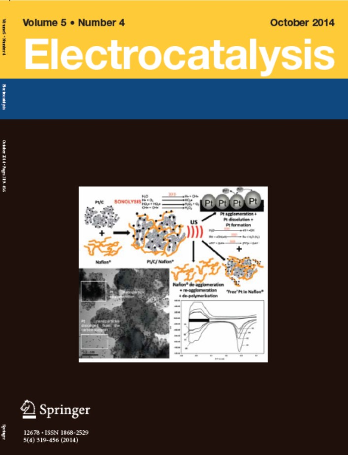 Electrocatalysis Volume 5 Number 4 October 2014